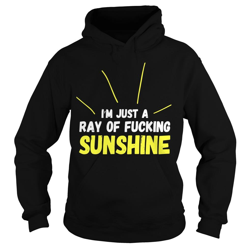 I'm Just A Ray Of Fucking Sunshine Hoodie