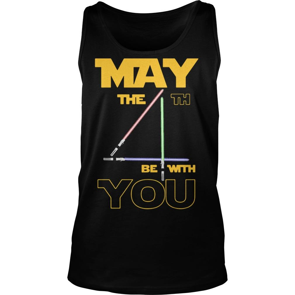 Star Wars May The 4th Be With Your Tank Top