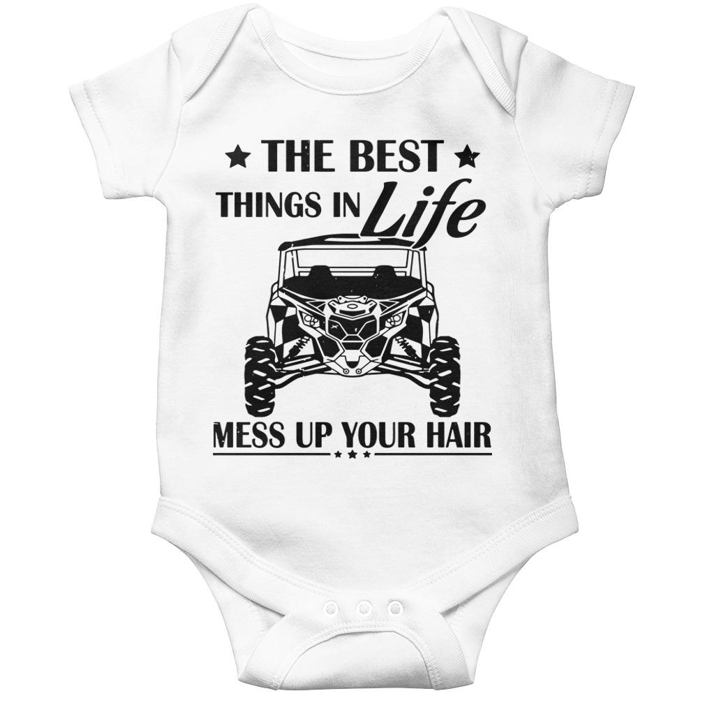 The Best Things In Life Mess Up Your Hair Longsleeve