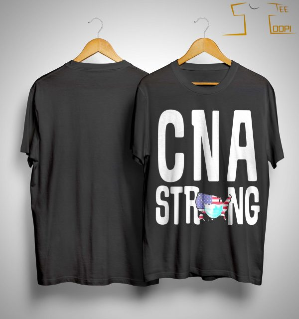 American Map Mask Cna Strong Shirt