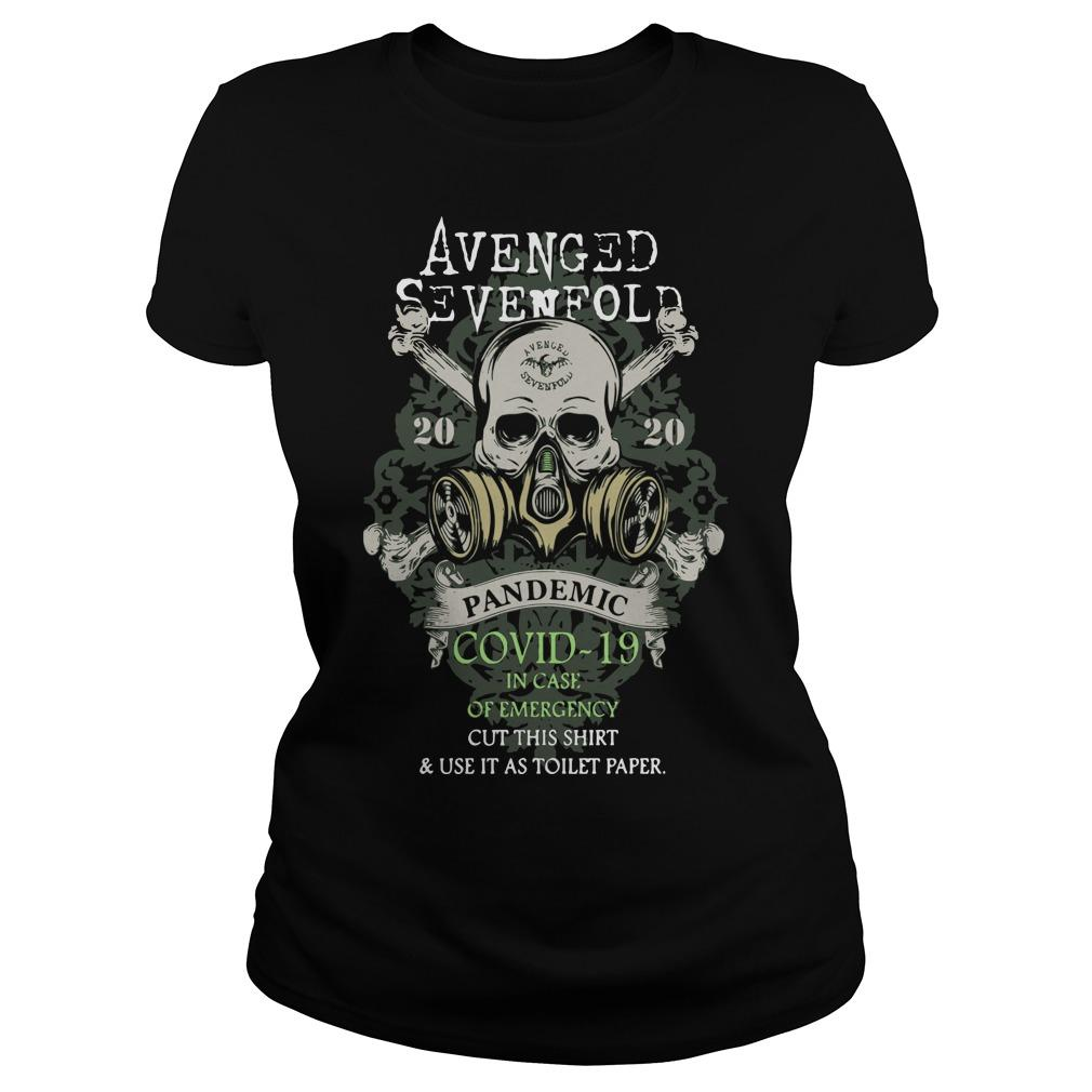 Avenged Sevenfold 2020 Pandemic Covid 19 In Case Of Emergency Longsleeve