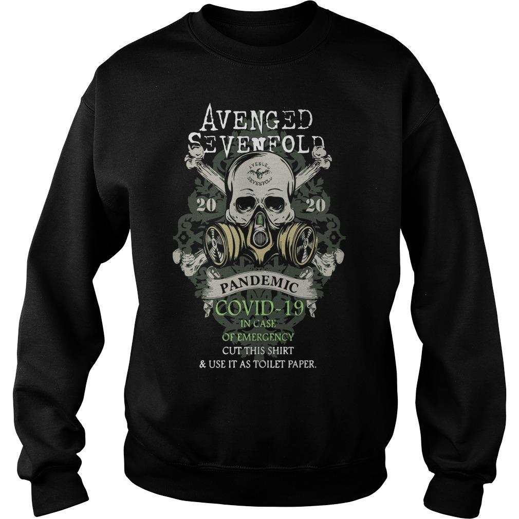 Avenged Sevenfold 2020 Pandemic Covid 19 In Case Of Emergency Sweater