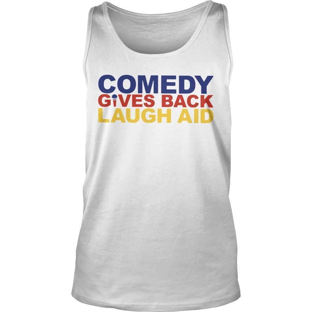 Comedy Gives Back Laugh Aid Tank Top