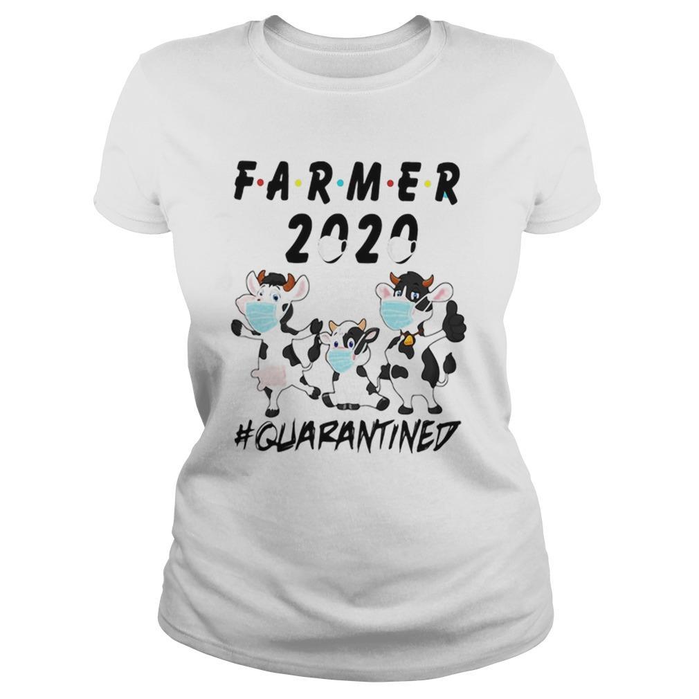 Cows Farmer 2020 Quarantined Longsleeve