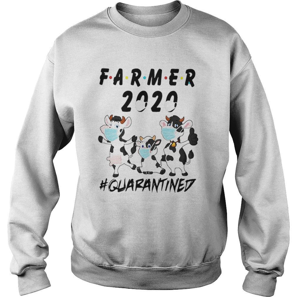 Cows Farmer 2020 Quarantined Sweater