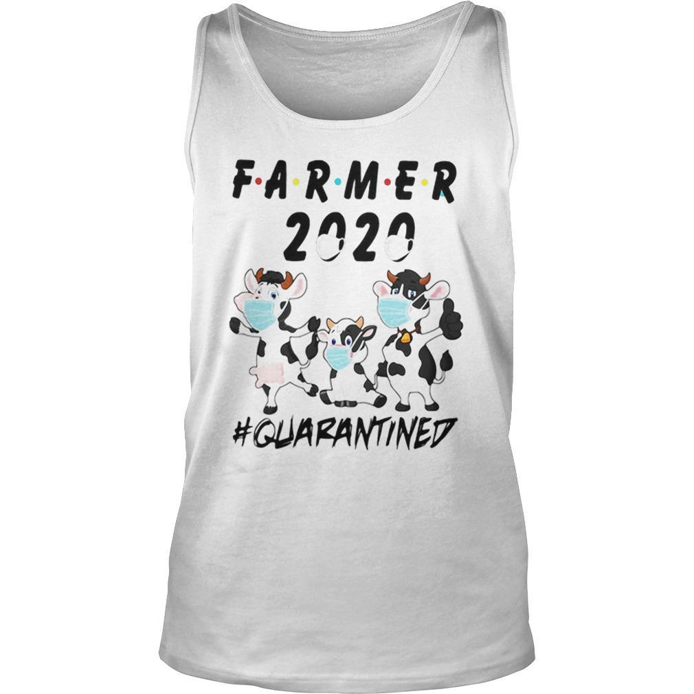 Cows Farmer 2020 Quarantined Tank Top