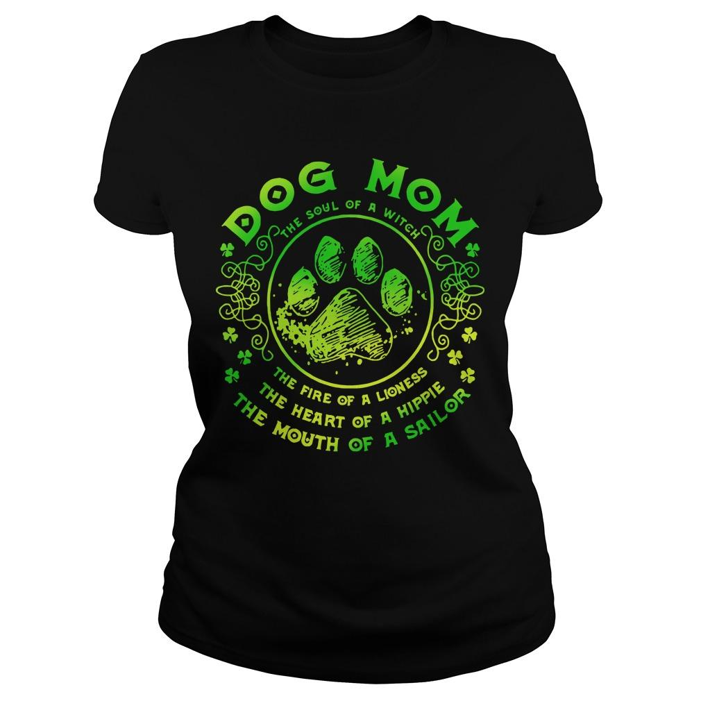 Dog Mom The Soul Of A Witch The Fire Of A Lioness Longsleeve