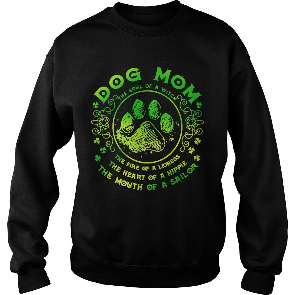 Dog Mom The Soul Of A Witch The Fire Of A Lioness Sweater