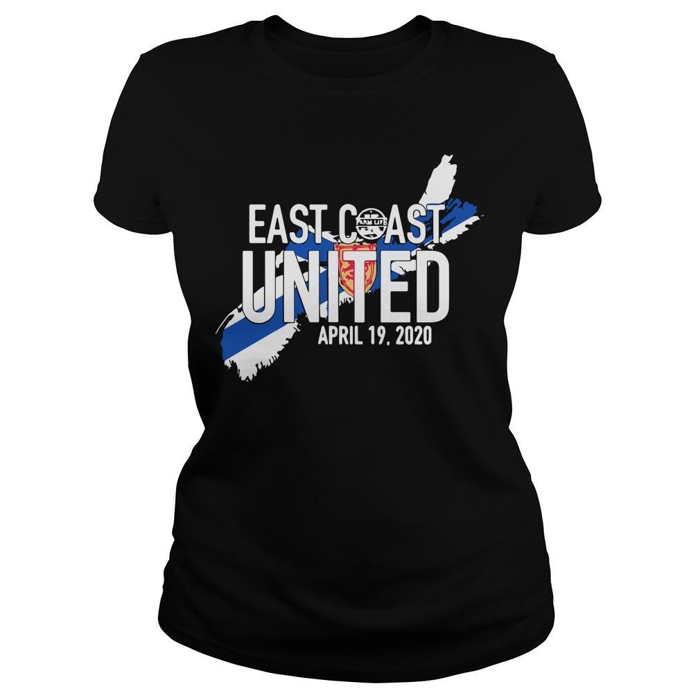 East Coast United April 19 2020 Longsleeve