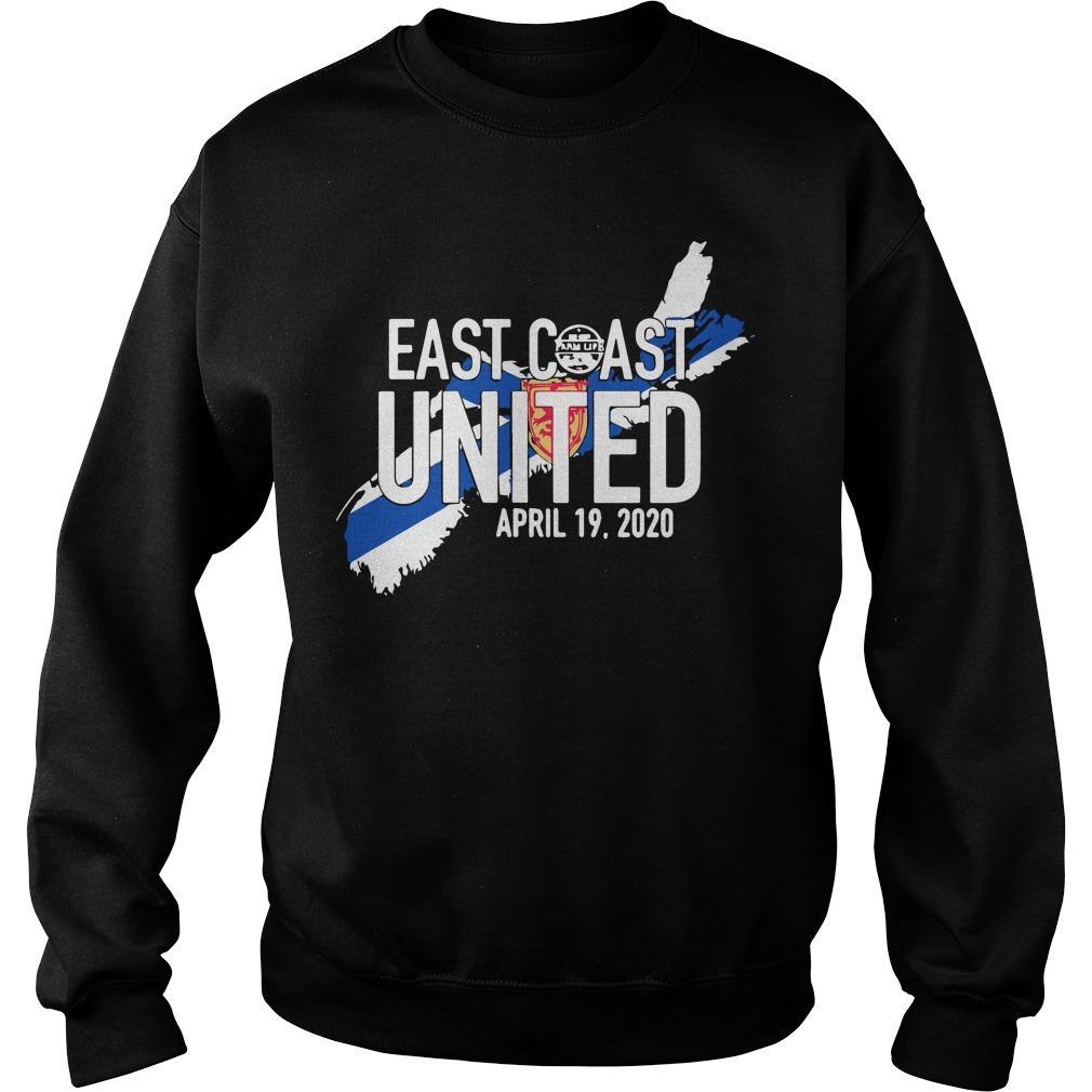 East Coast United April 19 2020 Sweater