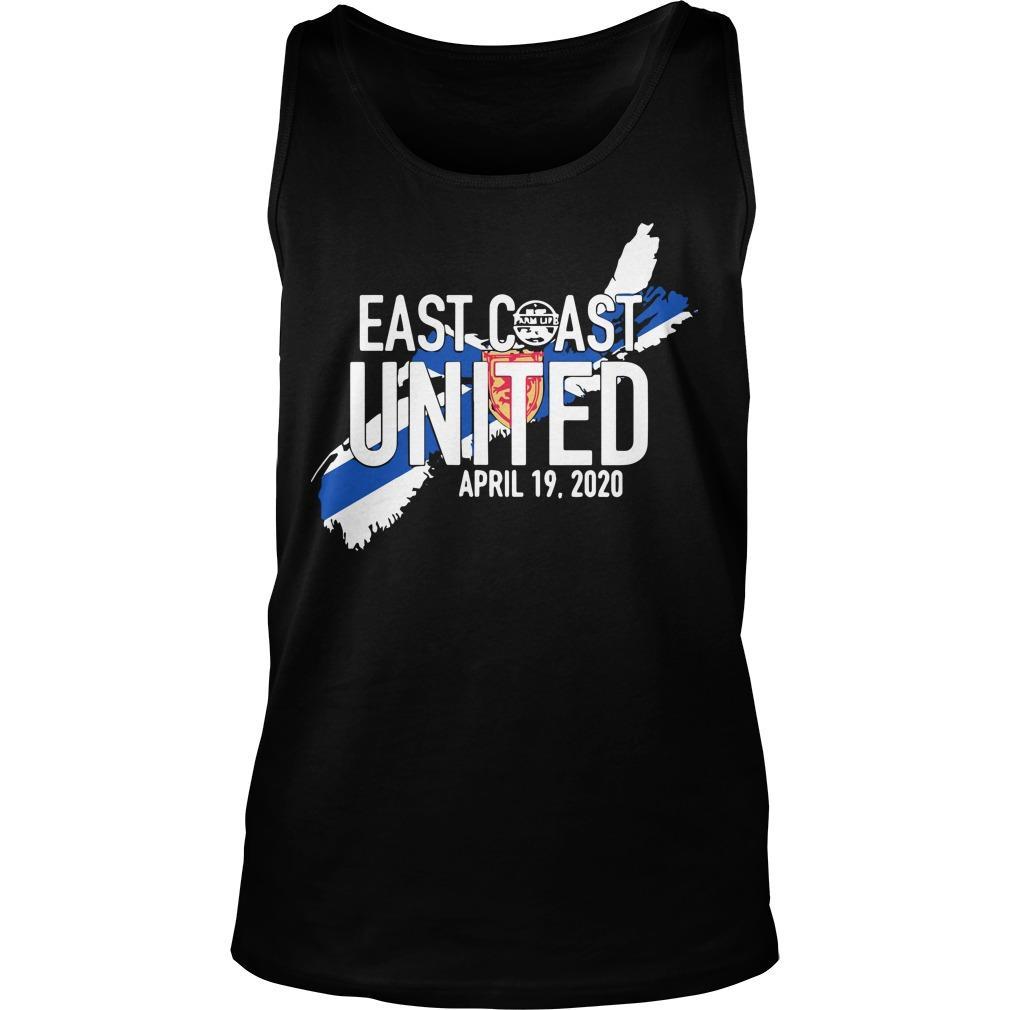 East Coast United April 19 2020 Tank Top