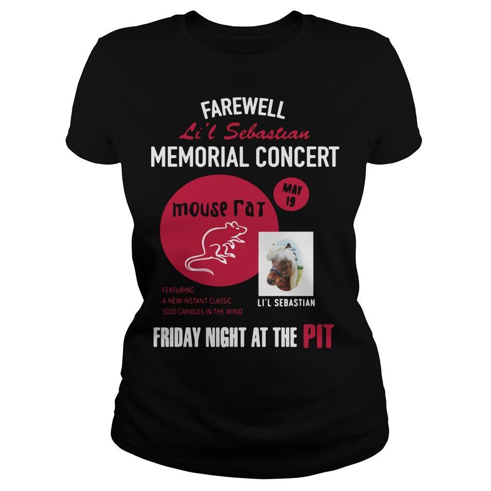Farewell Li'l Sebastian Memorial Concert Mouse Fat Longsleeve