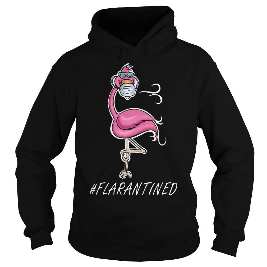 Flamingo #flarantined Hoodie