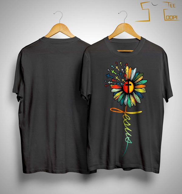 Flower Jesus Shirt