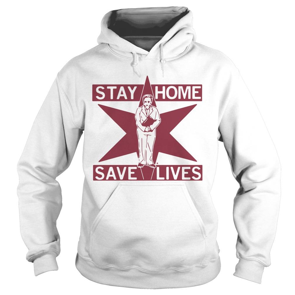 Lori Lightfoot Stay Home Save Lives Hoodie