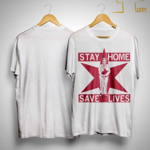 Lori Lightfoot Stay Home Save Lives Shirt