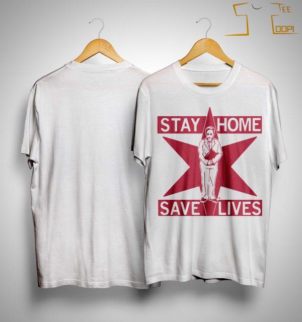 Lori Lightfoot Stay Home Save Lives Shirt