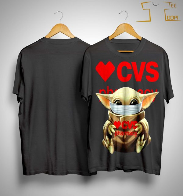 Mask Baby Yoda Hugging Cvs Pharmacy Shirt