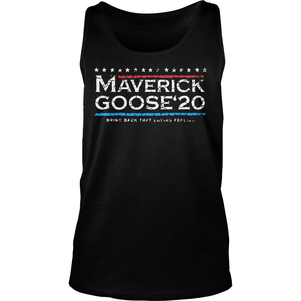 Maverick Goose'20 Bring Back That Loving Feeling Tank Top