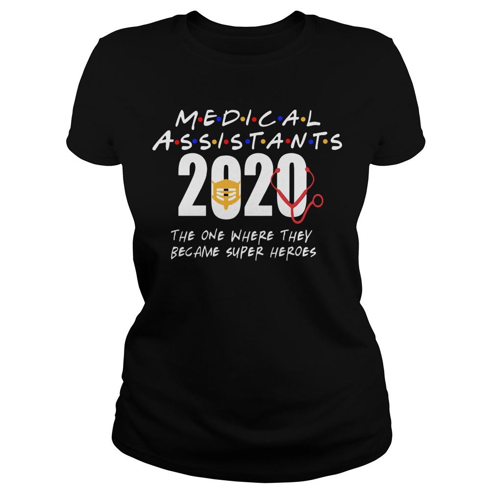 Medical Assistants 2020 The One Where They Became Super Heroes Longsleeve