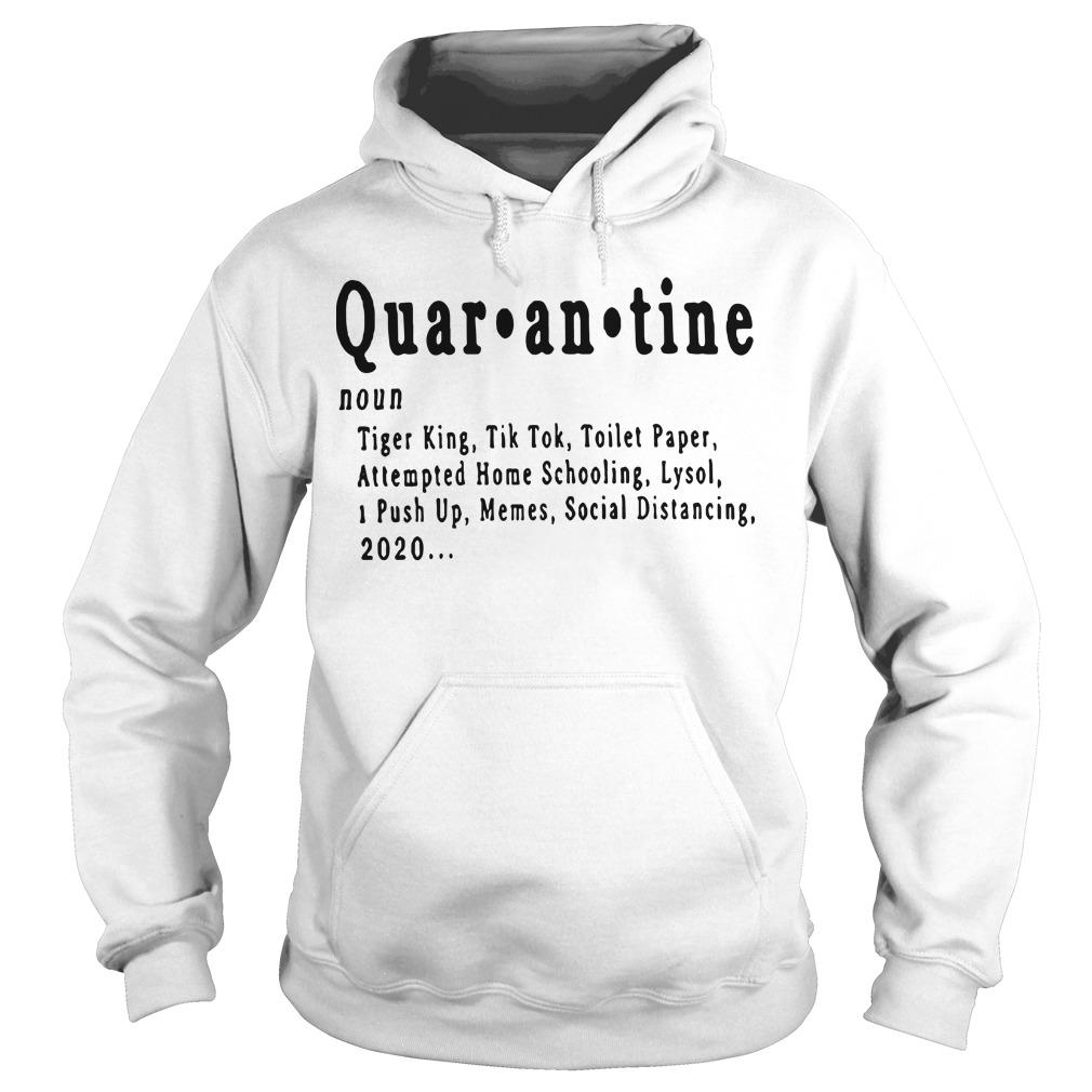 Quarantine Tiger King Tik Tok Toilet Paper Attempted Home Schooling Hoodie