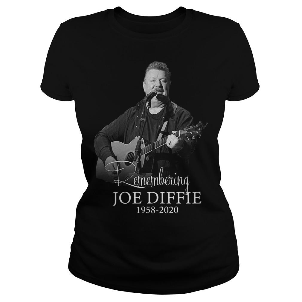 Remembering Joe Diffie 1958 2020 Longsleeve