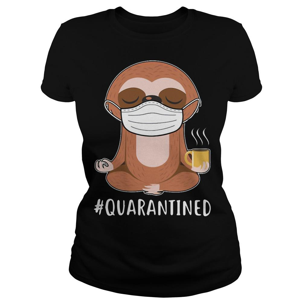 Sloth Yoga Mask Quarantined Longsleeve