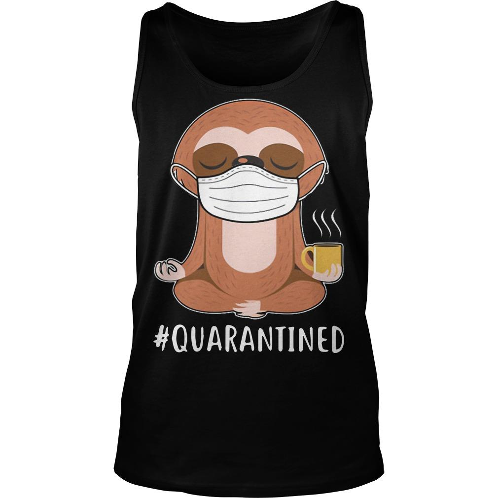Sloth Yoga Mask Quarantined Tank Top