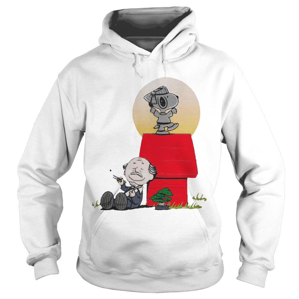 Snoopy Karate Nuts Hoodie