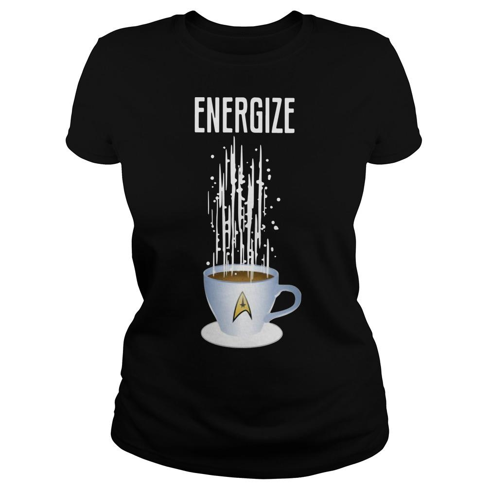 Star Trek Coffee Energize Longsleeve