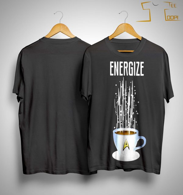 Star Trek Coffee Energize Shirt