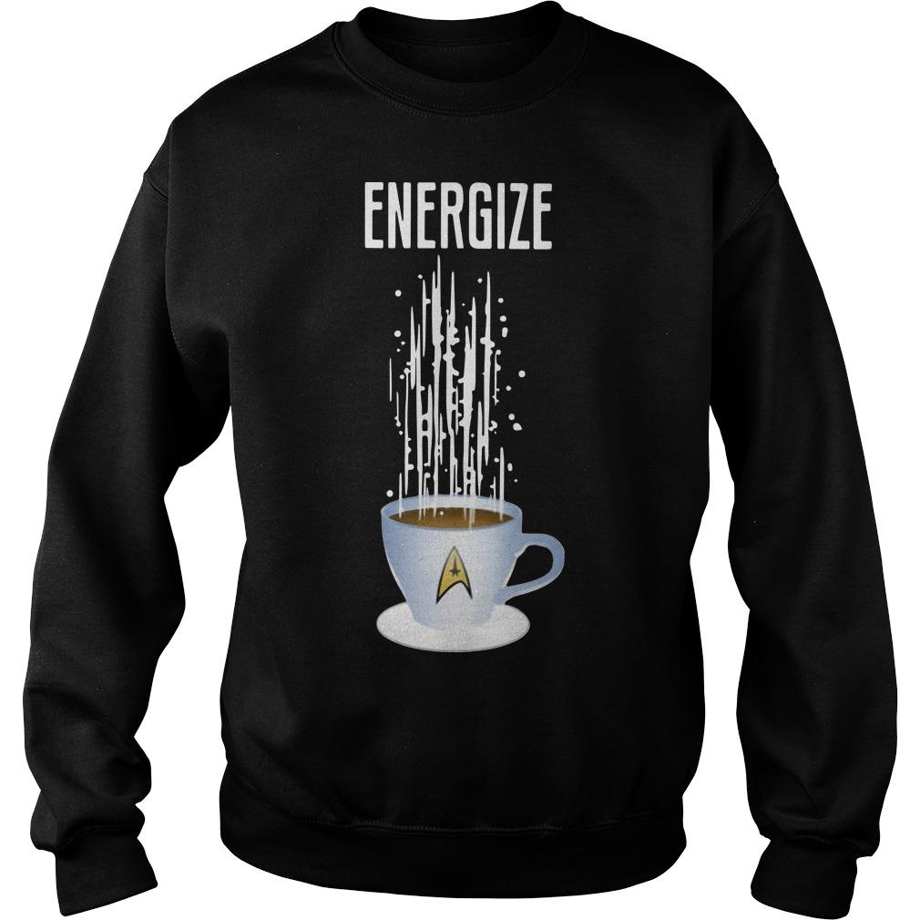 Star Trek Coffee Energize Sweater