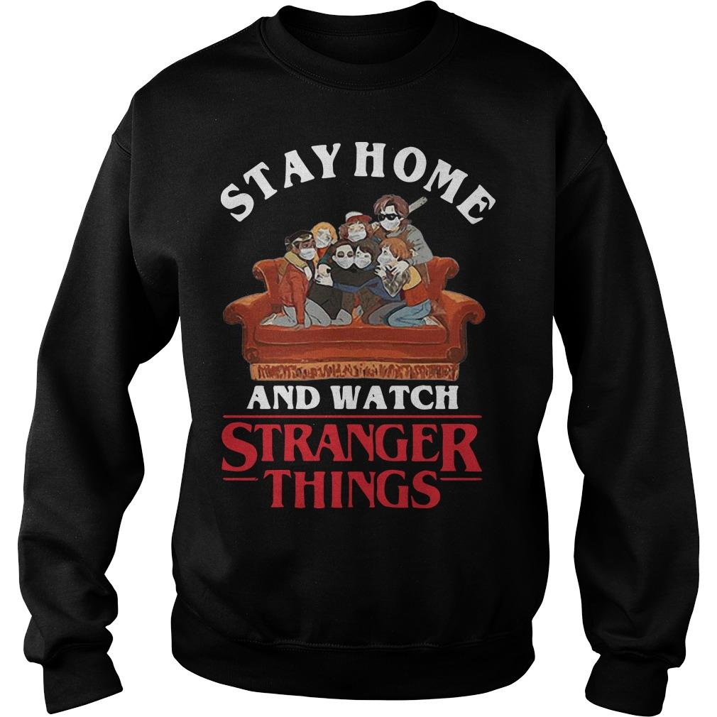 Stay Home And Watch Stranger Things Sweater