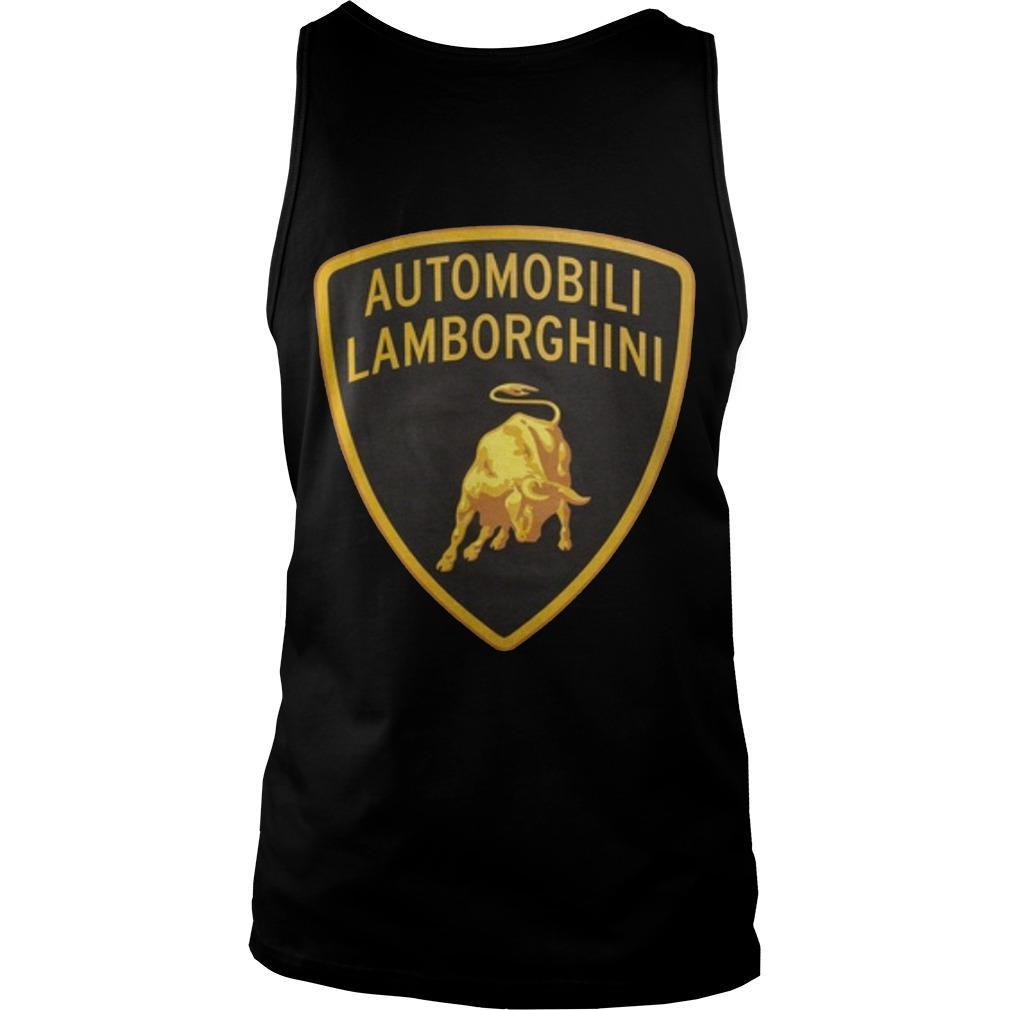 Supreme Lamborghini Tank Top