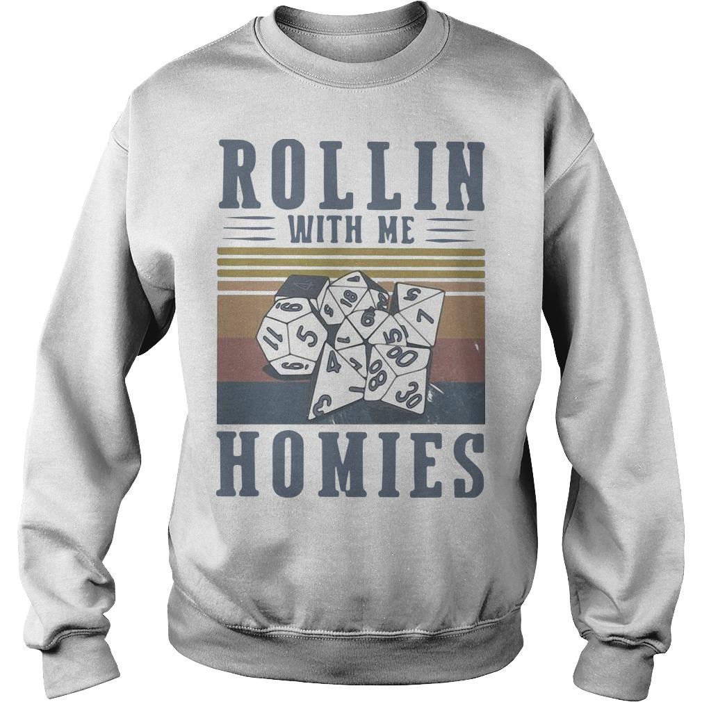 Vintage Rollin With Me Homies Sweater