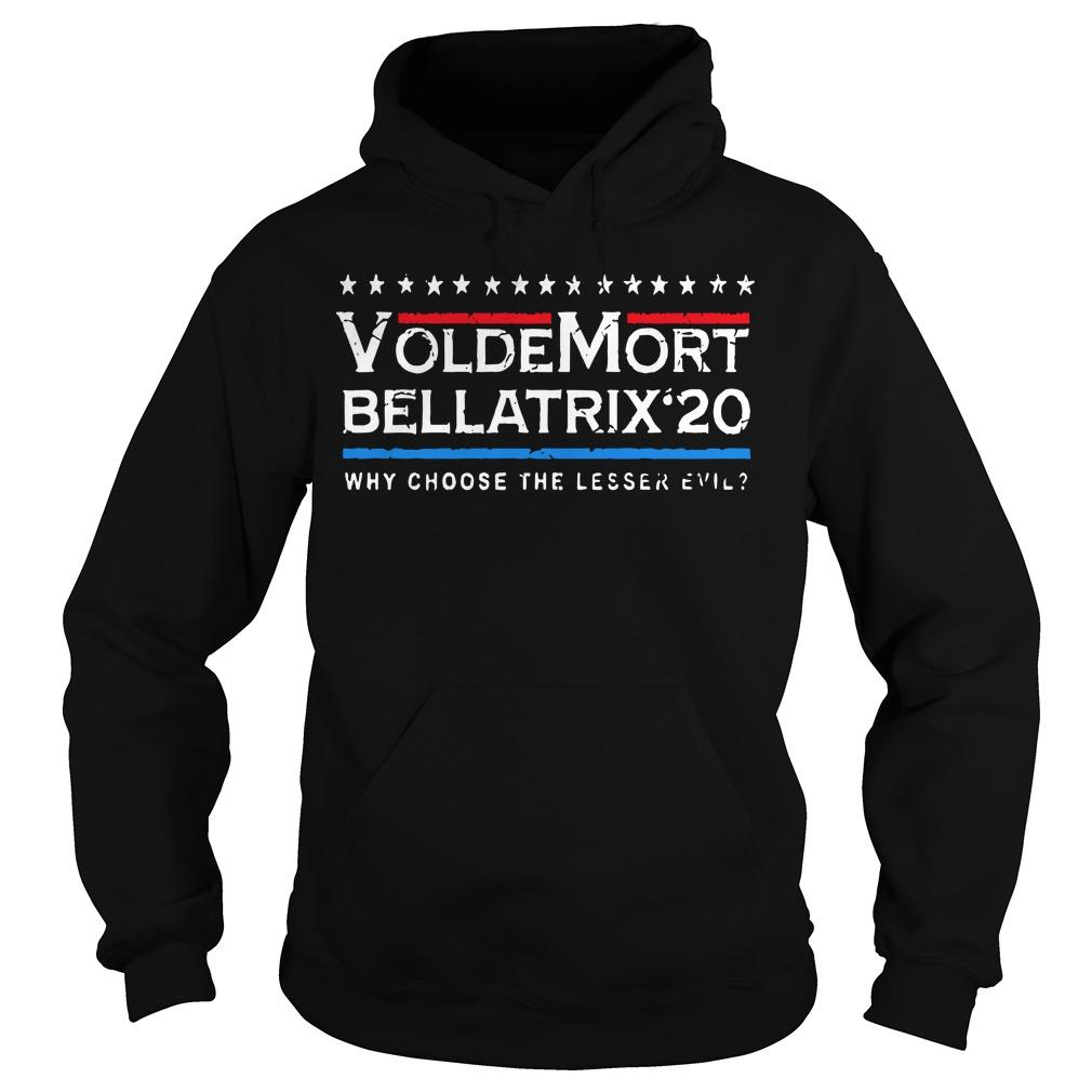 Voldemort Bellatrix 20 Why Choose The Lesser Evil Hoodie