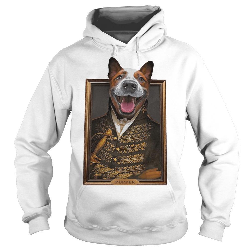 William Henry Harrison Dog Face Pupper Hoodie