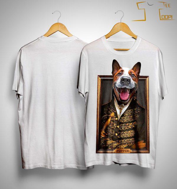William Henry Harrison Dog Face Pupper Shirt