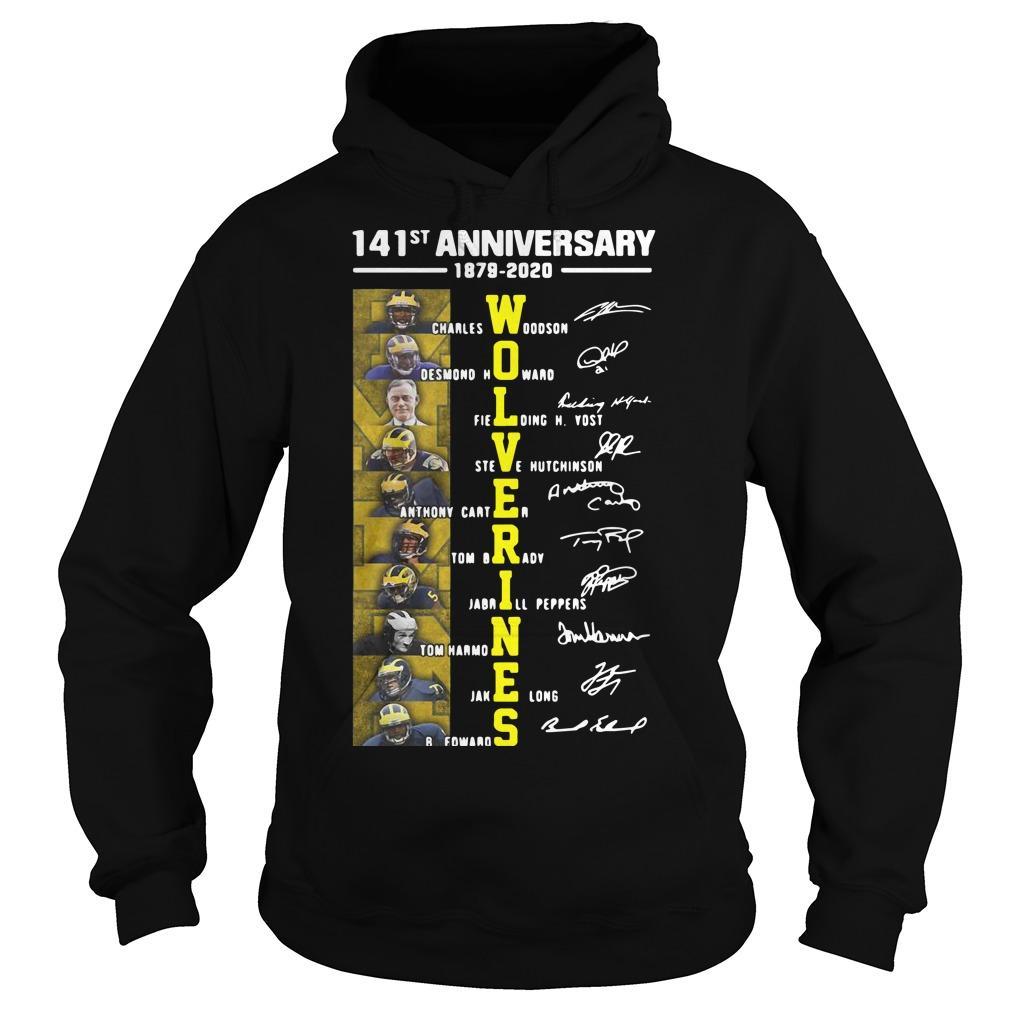 141st Anniversary 1879 2020 Wolverines Charles Woodson Desmond Howard Hoodie
