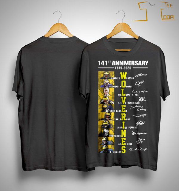 141st Anniversary 1879 2020 Wolverines Charles Woodson Desmond Howard Shirt