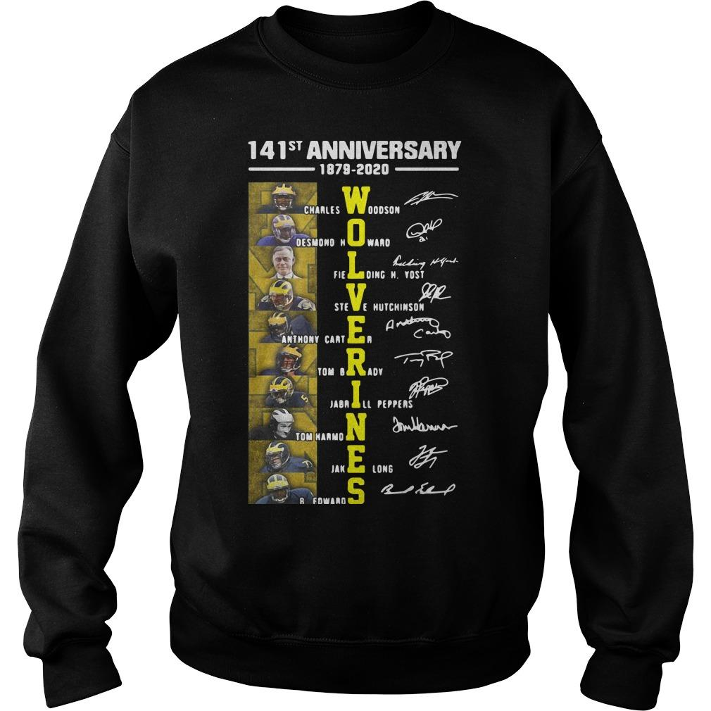 141st Anniversary 1879 2020 Wolverines Charles Woodson Desmond Howard Sweater