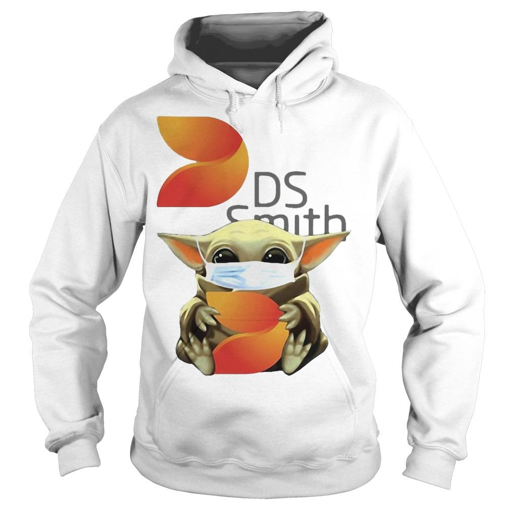 Baby Yoda Mask Hugging Ds Smith Hoodie