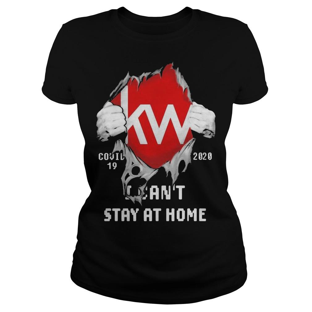 Blood Inside Me Kw Covid 19 2020 I Can't Stay At Home Longsleeve