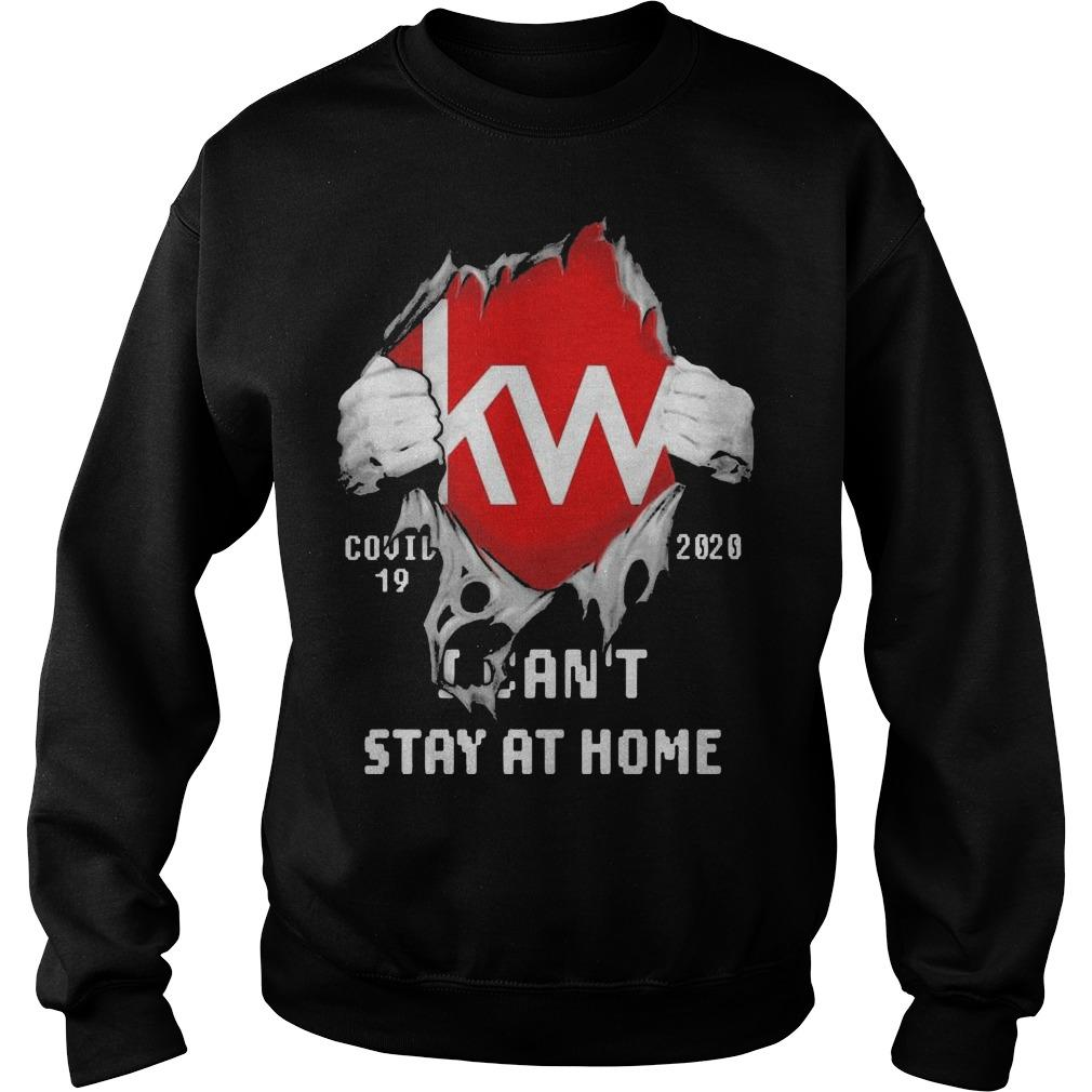 Blood Inside Me Kw Covid 19 2020 I Can't Stay At Home Sweater