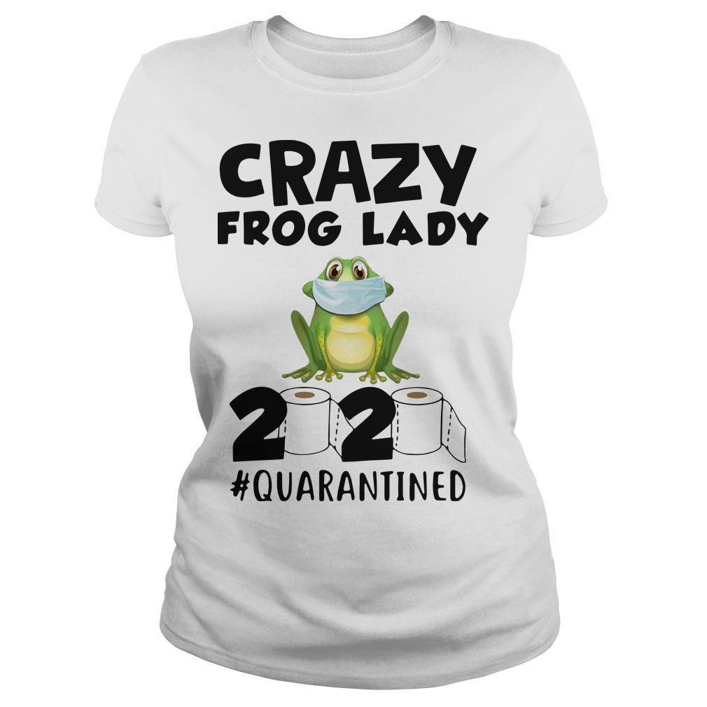 Crazy Frog Lady 2020 Quarantined Longsleeve