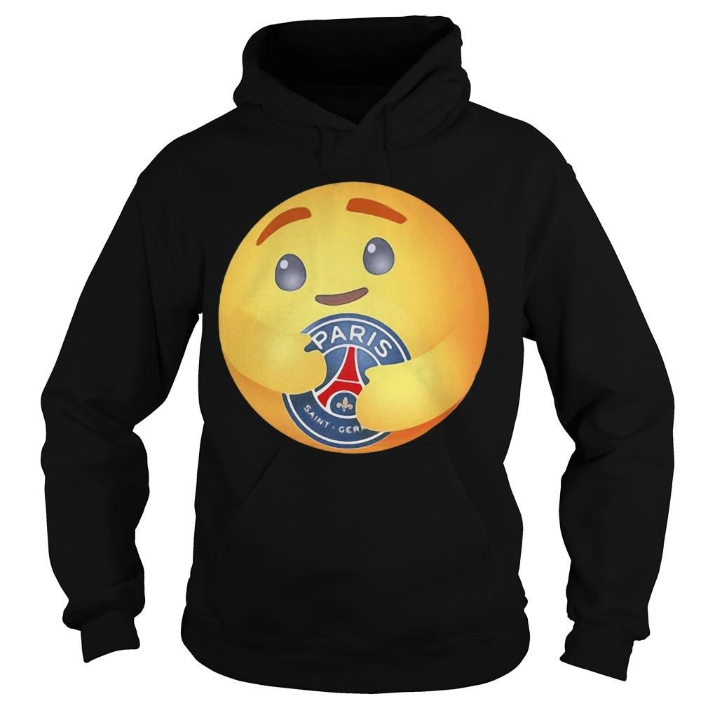 Facebook Care Emoji Hugging Paris Saint Germain Hoodie