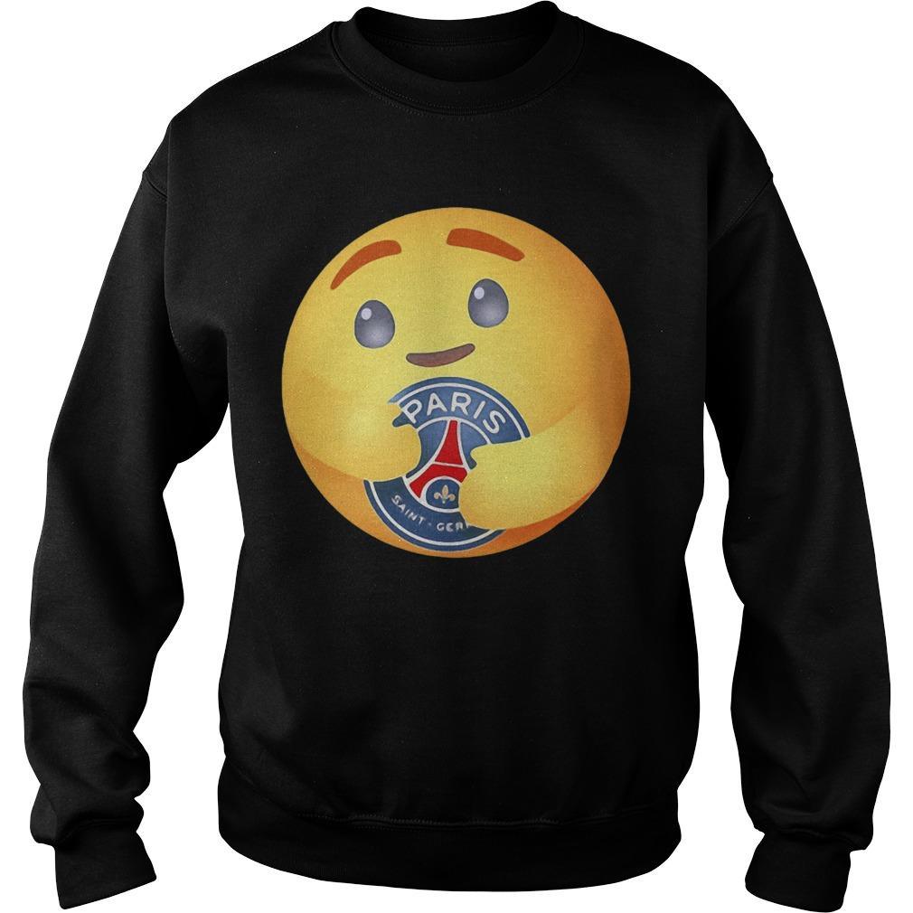 Facebook Care Emoji Hugging Paris Saint Germain Sweater
