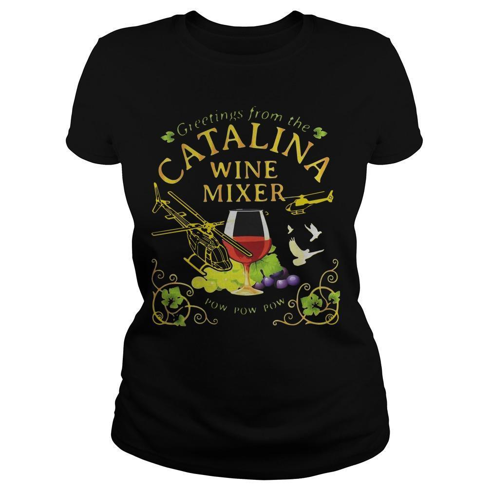 Grape Greetings From The Catalina Wine Mixer Pow Pow Pow Longsleeve