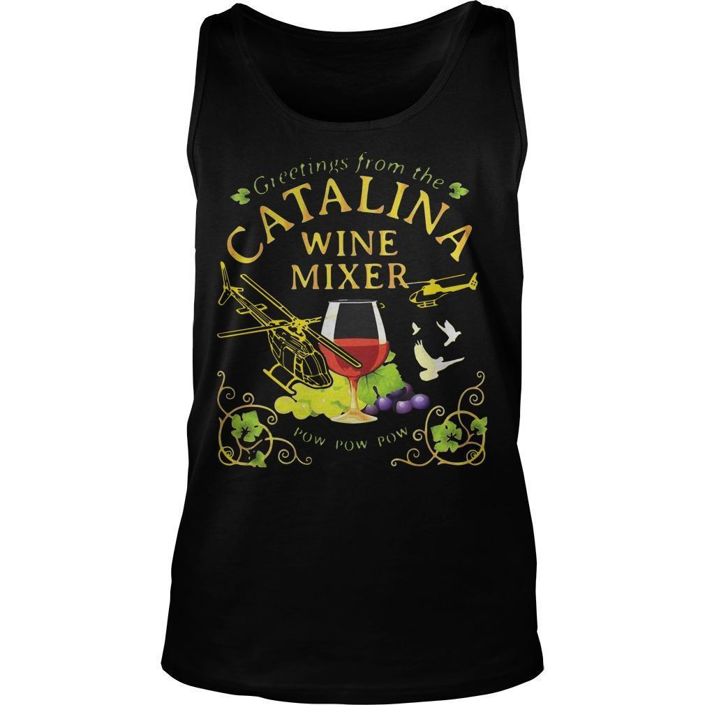 Grape Greetings From The Catalina Wine Mixer Pow Pow Pow Tank Top