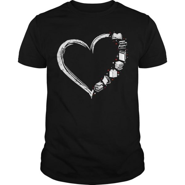 I Love Books And Librarian Life Shirt